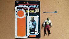 Vintage 1985 Kenner Star Wars Figure POTF  Barada