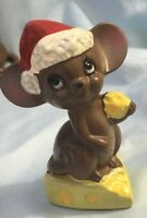 Josef Originals Christmas Mouse with Swiss Cheese