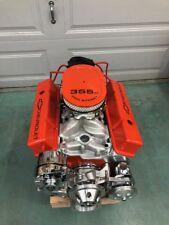 350 Crate Engine MOTOR 400HP ROLLER TURN KEY PRO STREET SBC CNC Below Cost Look