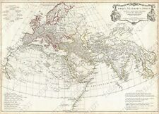GIANT VINTAGE MAP OF EUROPE THE ANCIENT WORLD 1794 OLD ANTIQUE STYLE art print