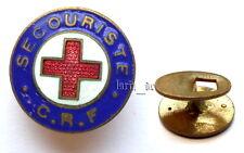 altes Rotes Kreuz Abzeichen Knopflochabzeichen emailliert Red Cross badge