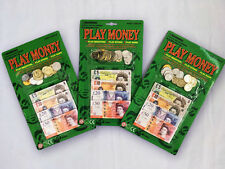 2 x Children Fake Money Play Set. Educational Toy