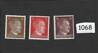#1068    MNH stamp set / Adolph Hitler / WWII Germany / Third Reich / MNH 1941