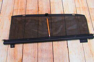 2004-2009 JAGUAR XJ8 XJ8L VANDEN PLAS REAR RIGHT RH DOOR SUNSHADE BLIND SUN