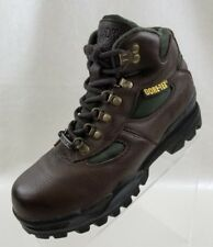 Redhead Boots Bone Dry Gore Tex Womens Hiking Brown Leather Lace Up Size 8.5M