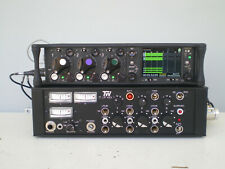Sound Devices 633 Recorder with TW-LP433 Audio Mixer In-Out Cables and Batteries