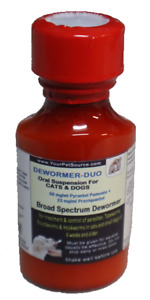 DEWORMER-DUO  for dogs and cat 2 onces
