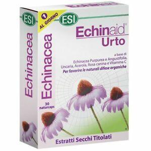ECHINAID URTO 30 CAPSULE :Integratore naturale all'Echinacea immunostimolante