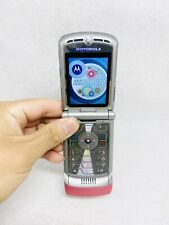 Motorola Razr V3 - Pink At&T Flip Phone