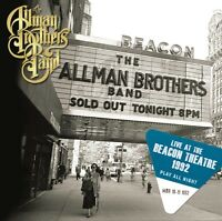 THE ALLMAN BROTHERS BAND-PLAY ALL NIGHT: LIVE AT THE BEACON THEATER 92 2 CD NEU