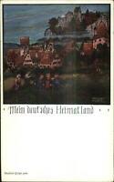 Arts & Crafts? Germany DEUTSCHES HEIMATLAND Adalbert Holzer c1910 Postcard