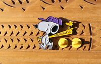 Snoopy Esquimalt Little League Peanuts Woodstock Metal & Enamel Pin Pinback
