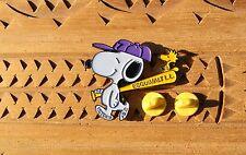 Snoopy Esquimalt Little League Peanuts Woodstock Metal & Enamel Pin Pinback