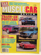 Vintage Muscle Car Review Magazine April 1988 AAR 'Cuda Boss 302 T/A Challenger