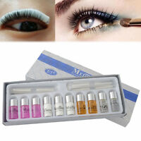Lady Eyelash Curling Perming Curler Perm Eye Lashes Wave Lotion Kit Set Beauty