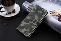 Funda flip libro piel sintetica estampado monedero para Ark Benefit M503