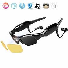 NewZexi Tragbare Bluetooth Sonnenbrille 1080p Kamera Brille Mini DV