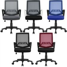Mesh Office Chairs Ergonomic Desk Chair Computer Mid Back Task Chair With Wheels