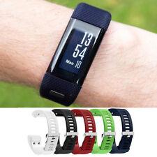 Ersatz Silikon Sports Watch Band Strap Uhrenarmband Für Garmin Vivosmart HR+ DE