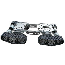 6-12V Metal ATV Track Robot Tank Chassis suspension obstacle crossing Crawler