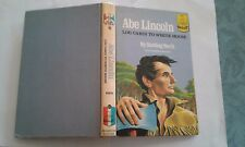 ABE LINCOLN by Sterling North, Landmark Books #61 pic cover