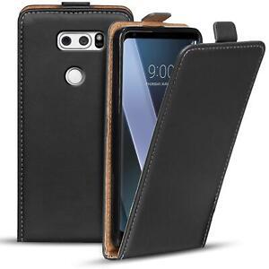 Housse de Protection Pour LG V30 Étui pour Téléphone Portable Sac Rabattable