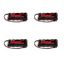 Venom 6V 1600mAh 5-Cell Flat Receiver NiMH Battery x4 Packs
