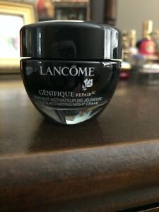 Lancome Genefique Repair Youth Activating Night Cream .5 oz (15 ml)