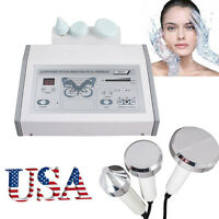 USA Ultrasound Ultrasonic Anti Aging Facial Skin Spa messager eye beauty Machine