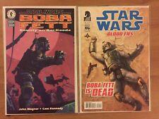 Star Wars Boba Fett Bounty on Bar-Kooda 1-shot and Blood ties 1 NM lot