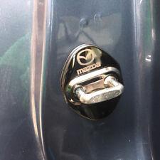 4x Edelstahl Türschloss Abdeckung Schnalle für Mazda CX-3 CX-5 KE KF