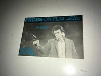 FOCUS ON FILM Orig Movie Magazine 1972 Clint Eastwood Dirty Harry S&W 44 Magnum