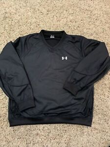 Under armour Men's charcoal pullover windbreaker large