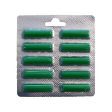 10 x Duftstäbchen Grün für alle Staubsauger Duft-Sommerwiese (6016)