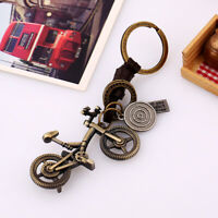 3D Motorcycle Scooter Pendant Car Key Chains Keychain Keyfob Keyring Driver Gift