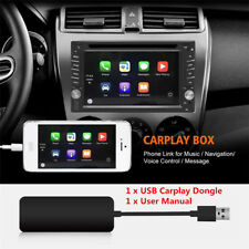 Black Carplay Dongle for Android iPhone iOS10 MTK WinCE system Navigation Player