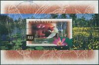 Australia 1997 SG1686a $10 Kakadu Wetlands MS FU