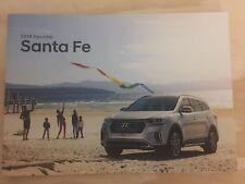 2018 HYUNDAI SANTA FE 16-page Original Sales Brochure