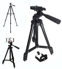 Cavalletto Treppiede Professionale per Telecamere Fotocamere Digitali 102 cm