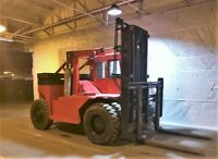45,000 lbs Capacity Forklift Truck • Taylor Y-45-WOS • 6' Forks Diesel Engine