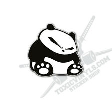 JDM sitting panda sticker decal JDM jap drift car sticker