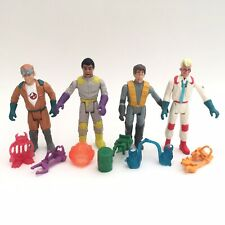 Vintage 1987 Kenner Ghostbusters Action Figures - Fright Features x 4