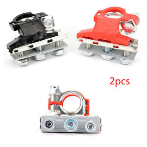2Pcs Heavy Duty Car Vehicle Battery Terminal Quick Connector Cable Clamp Clips