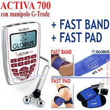 Globus ACTIVA 700 elettrostimolatore + FAST BAND girovita + FAST PAD gambe fasce