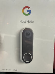 NEW NEST HELLO WIRED VIDEO DOORBELL NC5100US