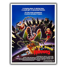 LITTLE SHOP OF HORRORS 1986 film movie METAL WALL PLAQUE Retro Sign poster print