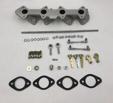 Toyota 2tc 3tc Intake Manifold And Linkage Weber Dcoe Carburetors