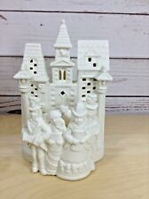 PartyLite Christmas Village Carolers Tealight Candle Holder