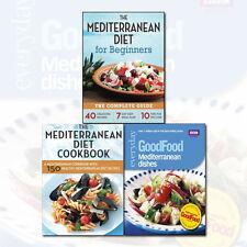 The Mediterranean Diet for Beginners,The Mediterranean Diet Cookbook,3 Books Set