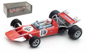 Spark S5401 Surtees TS7 #18 6th US GP 1970 - Derek Bell 1/43 Scale